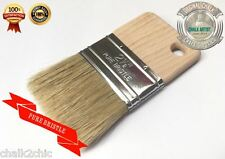 "#DB2.5 CHALK PAINT poly bristle Glaze Stain Poly FLAT 2.5"" 63mm Brush Finishing"