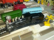 Vintage Midgetoy Train Set By Midgetoy Rockford, Il Made In Usa lot of 5 Hitches