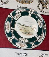 Vintage Noritake Keltcraft Ireland PURSUIT Set Of 2 Plates, Dinner And Desert