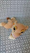 Doudou peluche Simba le roi lion  Mattel Arcotoys 25 cm
