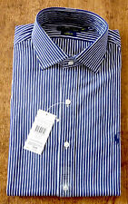 Ralph Lauren Men's Striped Cotton Collared Casual Shirts & Tops