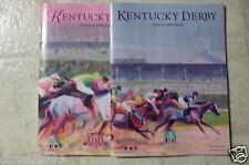 """2015  Kentucky Derby/Oaks 141th PROGRAM SET  Mint """" AMERICAN PHAROAH """""""