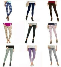 LEGGINGS WHOLESALE ONE SIZE, 1 PAIR OF EACH ( 9 PAIR TOTAL ) Buttery Soft Ooh La