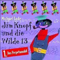 MICHAEL ENDE - 01: JIM KNOPF UND DIE WILDE 13; CD  9 TRACKS KINDERHÖRSPIEL NEU