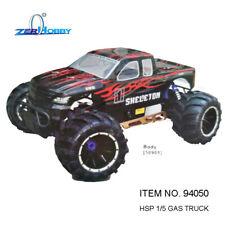 HSP RACING RC CAR 1/5 SCALE SKELETON 94050 GASOLINE POWER RTR MONSTER TRUCK