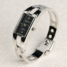 KIMIO Fashion Womens Lady Girl's Black Dial Bracelet Bangle Quartz Wrist Watch