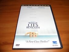 What Lies Beneath (DVD Widescreen 2001) Harrison Ford Used Michelle Pfeiffer