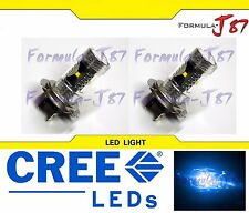 CREE LED 30W H7 Blue 10000K Two Bulbs Head Light High Beam Replacement Show Use