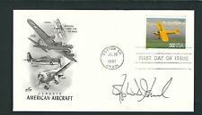 Stephen Ishmael signed cover NASA Research Pilot