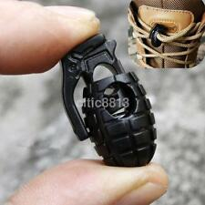 10X Hand Grenade Shoe Lace Shoelace Buckle Stopper Rope Clamp Paracord Cord Lock