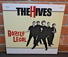 THE HIVES - Barely Legal. Limited Import 180 Gram COLORED VINYL LP + DL New!