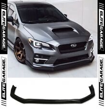 Subaru WRX STI - Chargespeed Style Front Bumper Lip Spoiler (15-19) PU CS