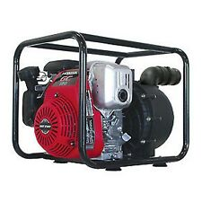 "2"" Nylon Transfer Water Pump 26' Suction - 5.5HP 200GPM - Honda GX160 Oil Alert"