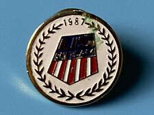 More details for vintage 1987 us ski team badge