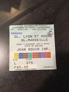 Ticket Om Marseille O L