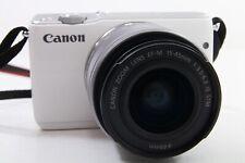 Canon EOS M10 Kit weiß, neuwertig