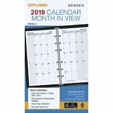 Collins Debden Personal Monthly Dated Refill 1 Year
