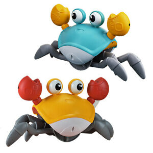 Cute Cartoon Floating Crab Bathtub Toys for Toddler 1-3 Years Old Crab Toy