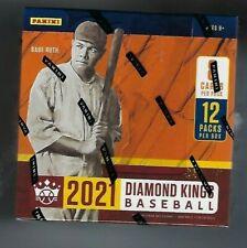 2021 PANINI DIAMOND KINGS béisbol Hobby Caja Sellada De Fábrica