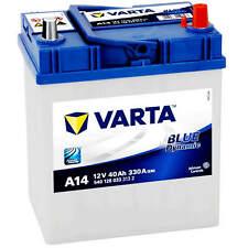 ASIA Autobatterie 12V 40Ah 330A Varta A14 Starterbatterie Japan Pluspol rechts