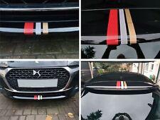 Citroen DS Line DS3 rear Spoiler Front Bumper vinyl Stripes Decals Stickers