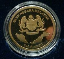 Willie: 2013 Malaysia 50 Years Anniversary Gold Proof with cert and box a