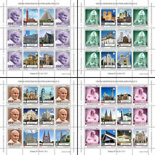 Guinea-Bissau Pope John Paul II Stamps 2020 MNH Popes Pastoral Visits 4x M/S