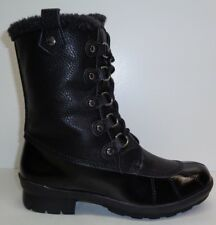 Aerosoles Size 7 M BARRICADE Black Combo 820 Memory Foam Boots New Womens Shoes