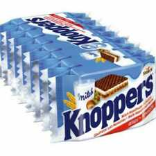 Knoppers 8/pack x3 MADE IN GERMANY Waffell Chocolate
