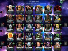 1.2 mil MCOC Stacked and Stocked account! Includes e-mail