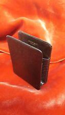 VINTAGE- LONGCHAMP- Etui paquet porte cigarettes en cuir / lézard