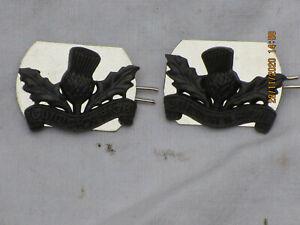 Royal Regiment of Scotland,Officer Service Dress,Collar Badges,Kragenabzeichen#1