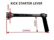 12MM 200MM KICK START STARTER LEVER DIRT BIKE QUAD ATV BUGGY PIT PRO TRAIL BIKE