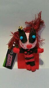 Harley Quinn Voodoo Doll Keyring Key Chain keyfob charm string wool girls boys g