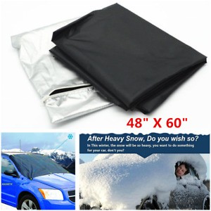 """48""""X60"""" Car Windshield Front Window Cover prevent Snow Ice Protector Sun Shield"""