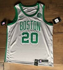 NBA Nike Swingman Boston Celtics Gordon Hayward Jersey Gray City w/ GE Logo XL