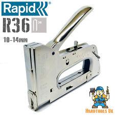 Rapid  Heavy Duty R36 Cable Tacker / Stapler / Staple Gun - Electrical Stapler