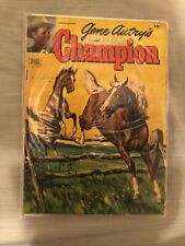 GENE AUTRY'S CHAMPION #7 Painted Cover 1952