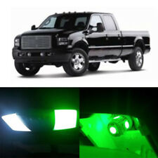 8pcs Green SMD LED lights interior package kit for Ford Super Duty 1999-2010 # 1