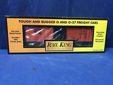 Rail King MTH New Haven Box Car 30-7475 FREE SHIPPING O SCALE TRAINS