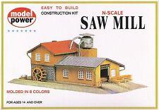 1523 Décor en kit Usine scierie Model Power train N 1/160
