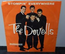 The Dovells Vintage Records 45RPM Stompin Everywhere & You Cant Sit Down Rare