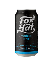 Fox Hat Metric IPA Cans 375mL case of 24 India Pale Ale