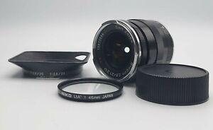 [Near Mint] Carl Zeiss Biogon T 21mm F/2.8 ZM Lens Black For Leica M Form Japan