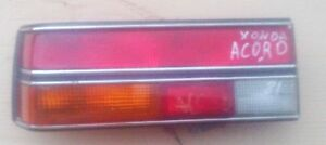 HONDA ACCORD MODEL 1979 81 LEFT SIDE TAIL LIGHT STANLEY 043-6336L USED