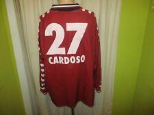 "Hamburger SV Fila Langarm Trikot 1999/00 ""HYUNDAI"" + Nr.27 Cardoso Gr.XXL TOP"