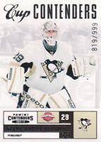 2011-12 Panini Contenders Hockey #126 Marc-Andre Fleury CC 819/999 Penguins