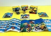 LEGO Classic Town Bundle Job Lot 6501 6607 6613 with Box and Instructions