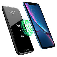 Portable Wireless Charger Power Bank Samsung Note 10 9 8 Galaxy S20 5G S10 S9
