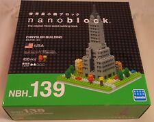 Kawada Nanoblock CHRYSLER BUILDING USA  japan building toy block NBH_139